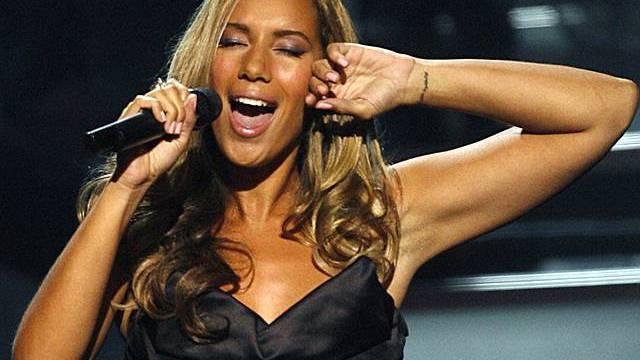 24-jährige Sängerin Leona Lewis (Archiv)