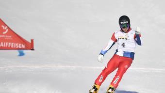 Der 24-jährige Bündner Dario Caviezel wurde in Scuol wie bereits vor einem Jahr auf Platz 3.