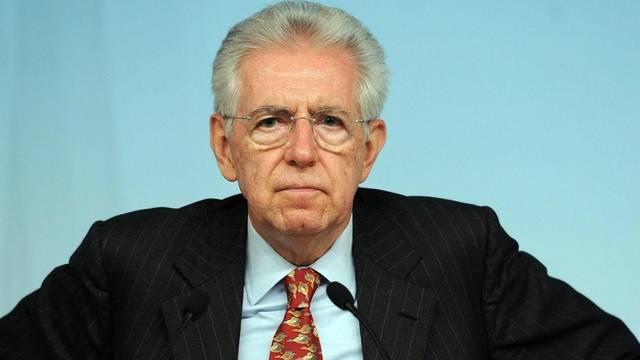 Der italienische Ministerpräsident Mario Monti