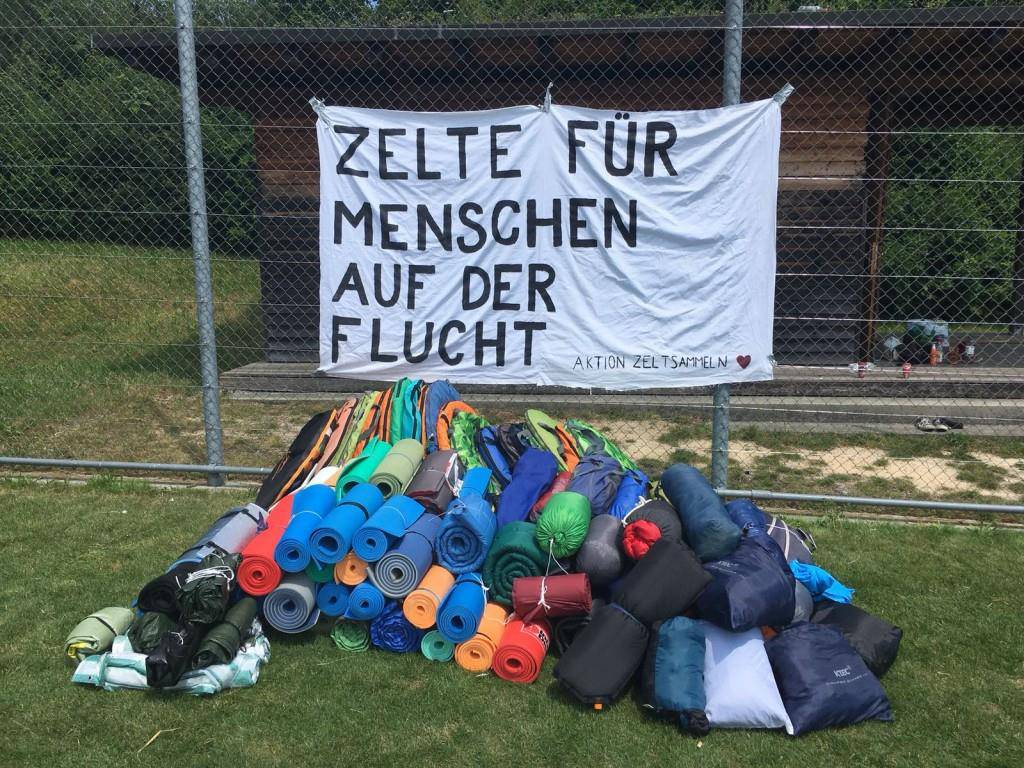 Aktion-Zeltsammeln 2018 (© Aktion-Zeltsammeln)
