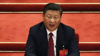 Der Präsident Chinas Xi Jinping hat sich deutlich mehr Macht verschafft.