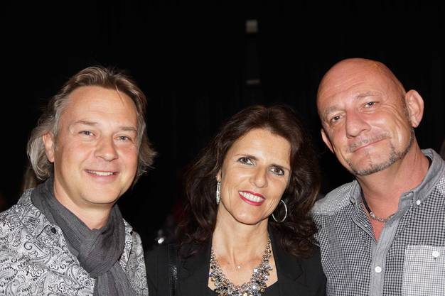 'Die Midlife Party hat bei uns Tradition' Silvia und Marcel Heller, Birmenstorf, und Christoph Hess, Wettingen