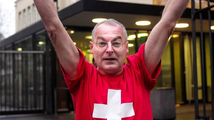 Eric Weber, ehemaliger Basler Grossrat, wird an der Demonstration sprechen.
