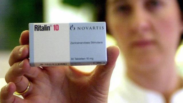 Ritalin wird vom Basler Pharmakonzern Novartis hergestellt (Archiv)