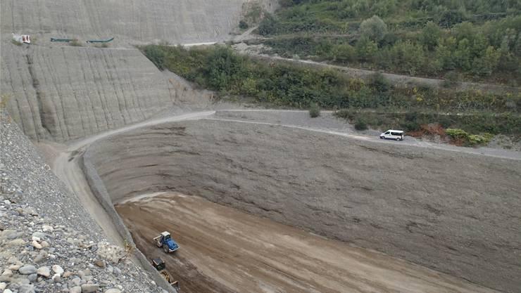 300'000 Kubikmeter Inertstoff hätten auf der Deponie Platz gefunden.