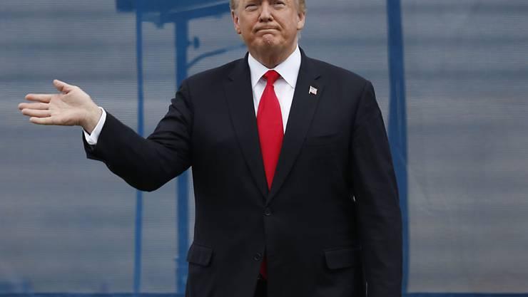 US-Präsident Donald Trump reagiert erneut auf Kritik an seinen Massnahmen im Handelsstreit. (Archivbild)