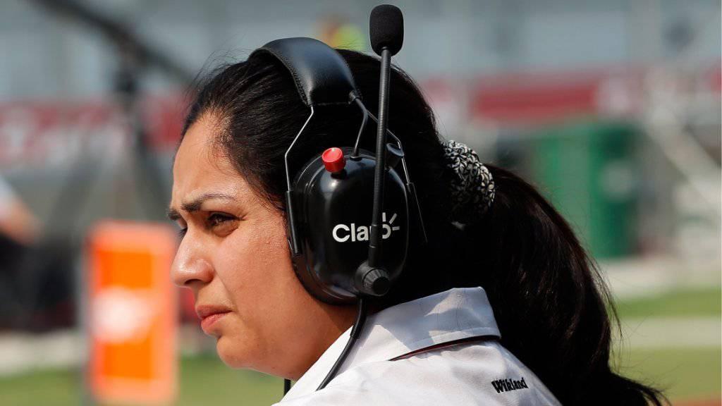 Konnte am Mittwoch die ausstehenden Februar-Löhne überweisen lassen: Sauber-Teamchefin Monisha Kaltenborn
