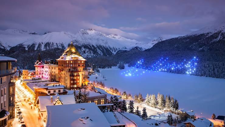 St. Moritz zeigt am 1. Januar 2020 eine Premiere: Zum ersten Mal wird in der Schweiz an Neujahr eine Drohnenshow präsentiert.