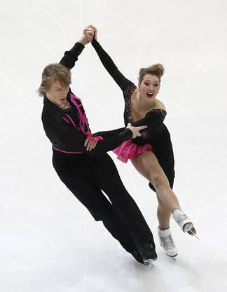 Lucie Mysliveckova ünd Matej Novak aus der Tschechei.