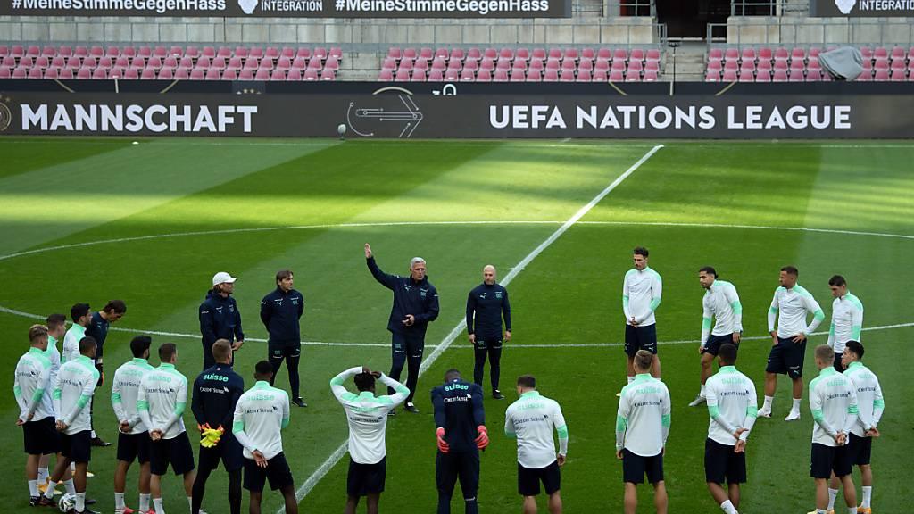 Schweizer Nationalmannschaft testet gegen Griechenland