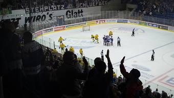 Auch die Swiss League bietet spektakuläres Hockey