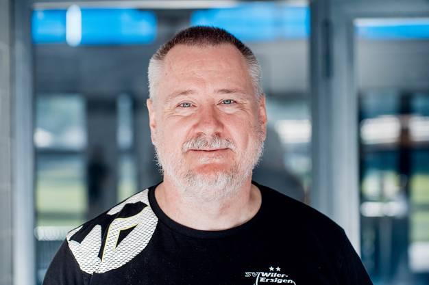 Thomas Berger ist seit 2016 wieder Trainer bei Wiler-Ersigen. Mit ihm holte die Mannschaft zwei Meistertitel und einen Cupsieg.
