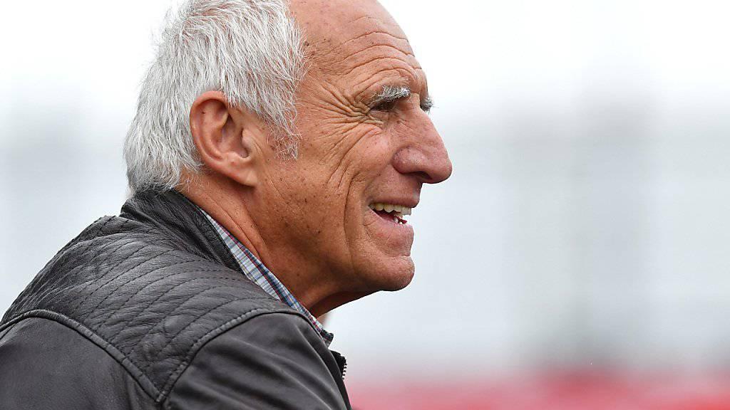 Red-Bull-Gründer Dietrich Mateschitz kommt mit Salzburg endlich etwas voran.