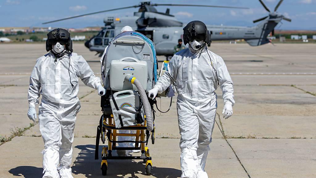 Vermutlich Tausende Tote mehr als bekannt durch Pandemie in Spanien