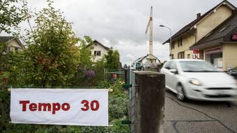 Der Entscheid, Tempo 30 in der Bleichenbergstrasse umzusetzen, soll aufgehoben werden. (Archivbild)