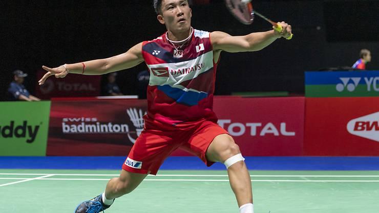 Der Japaner Kento Momota wiederholte an der Badminton-WM in Basel seinen Einzel-Titel aus dem Vorjahr
