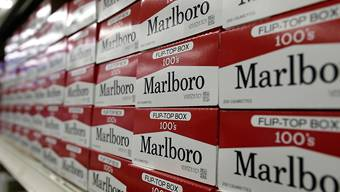 Elefantenhochzeit von Zigarettenherstellern geplant: Der Tabakriese Philip Morris International und der Marlboro-Produzent Altria erwägen einen Zusammenschluss. (Archiv)