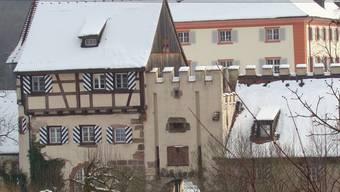 Die Anlagen des Schlosses Beuggen heute.