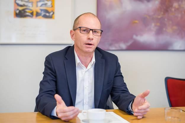 Muss in den zweiten Wahlgang: Gemeinderat Guido Vogel (SP)