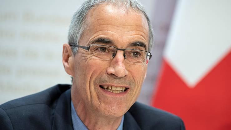 Serge Gaillard sorgt sich um die Zukunft der Sozialwerke.