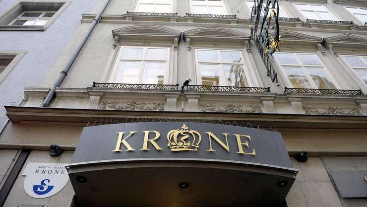 2010 erwürgte der Verurteilte seinen 5-jährigen Sohn in einem Zimmer des Hotel Krone. (Symbolbild)