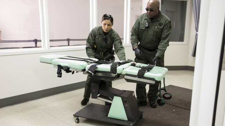 In Texas ist am Mittwoch die siebte Todesstrafe in diesem Jahr vollstreckt worden. (Symbolbild)