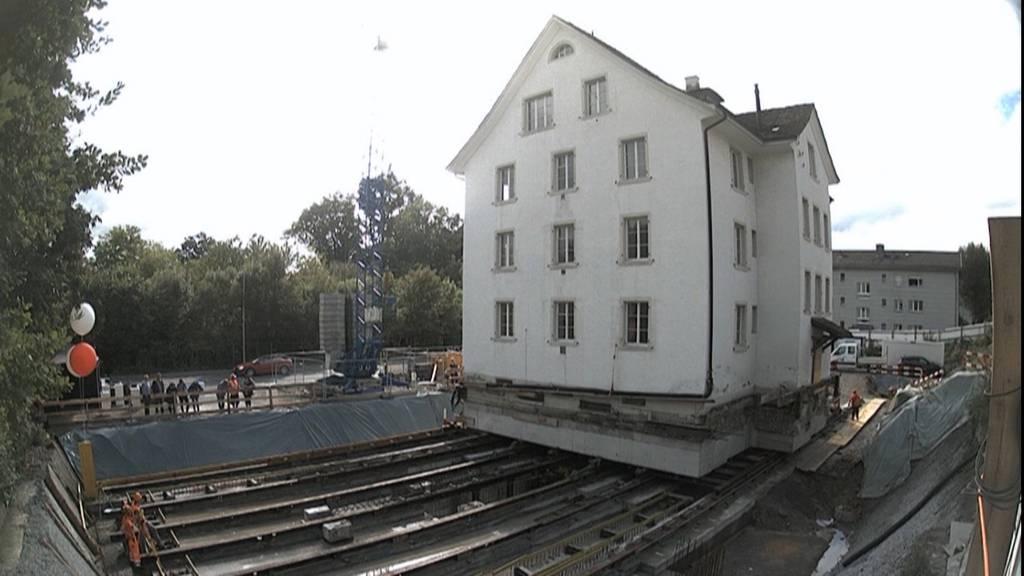 Spektakulärer Umzug in Kilchberg: Denkmalgeschützte Villa wird verschoben