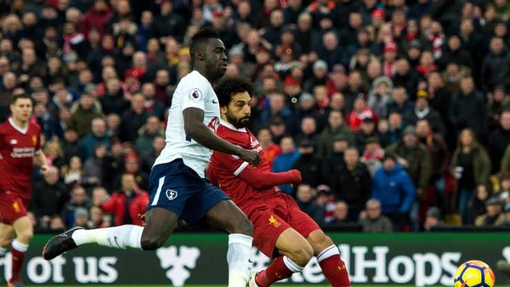 Der ehemalige Basler Mohamed Salah schoss seine Saisontore 20 und 21 gegen Tottenham Hotspur
