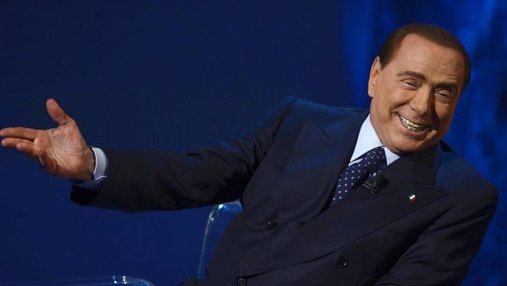 Silvio Berlusconi kann es nicht lassen.