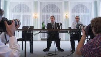 Michael Ambühl verabschiedet sich mit einem Mediengespräch in Bern