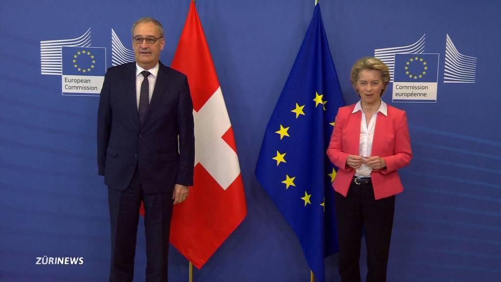 Rahmenabkommen mit der EU: Bundesrat gibt sich selbstbewusst