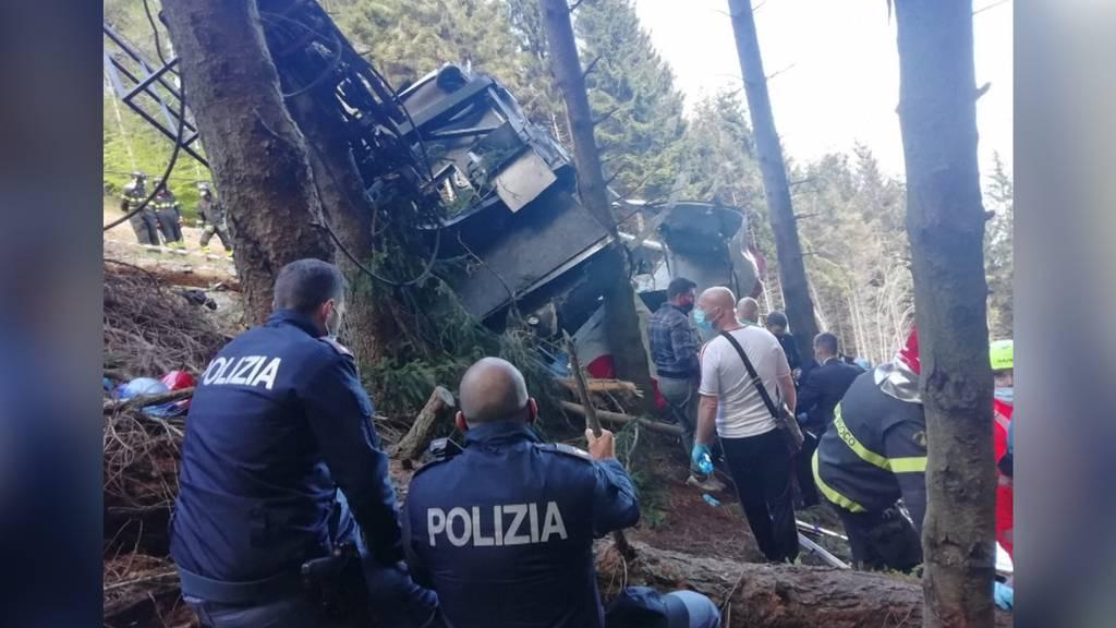 Dreizehn Tote bei Seilbahnunglück in Italien