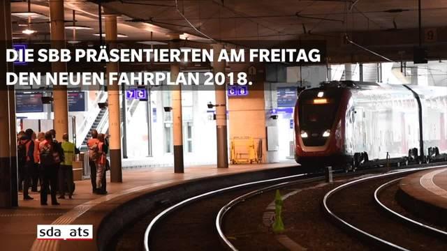 SBB Fahrplan 2018: Westschweiz, Einschränkungen im Fokus