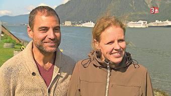 Luis und Suzanne kämpfen in Alaska mit Coronafolgen.