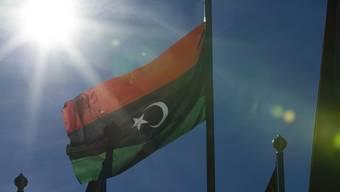 Rückkehr zur Flagge in Rot, Grün und Schwarz: Die grüne Flagge gehört der Verhangenheit an (Archiv)