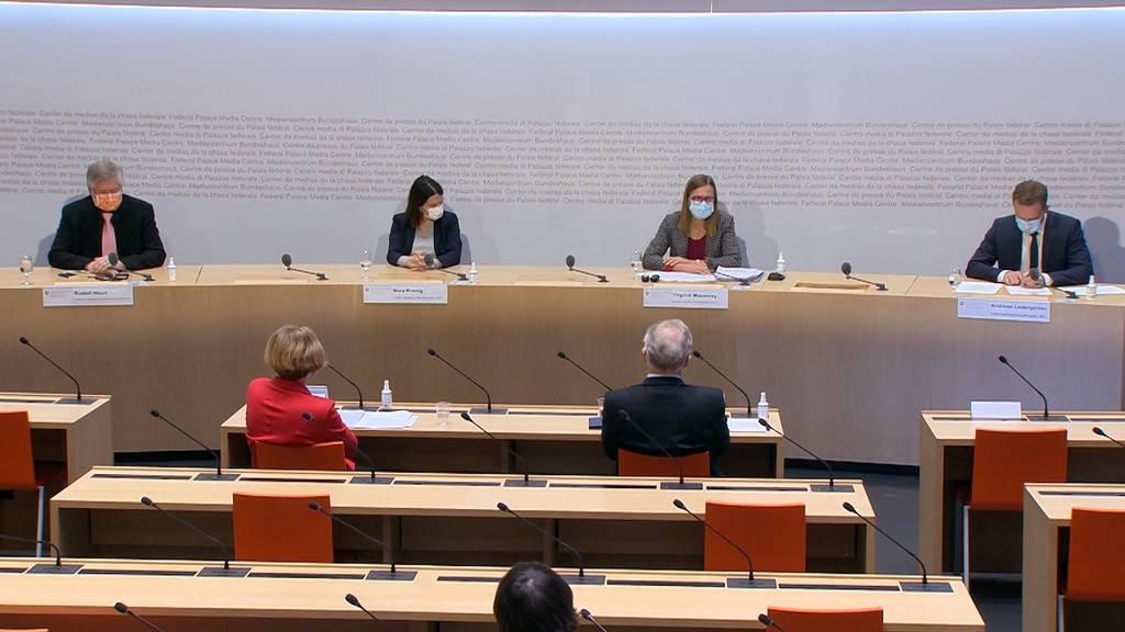 Impfzahlen und Mutationen: Die Pressekonferenz im Überblick