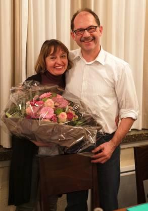 Anita Lüthi, unsere fleissige Frohnatur, wurde durch Paul Stehrenberger verabschiedet.