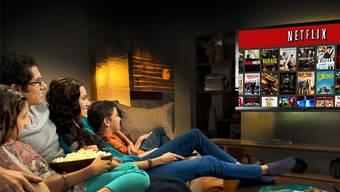 Vertraute Sitzhaltung, übliche Ernährung: Netflix verändert den Wettbewerb nur beim Content. HO