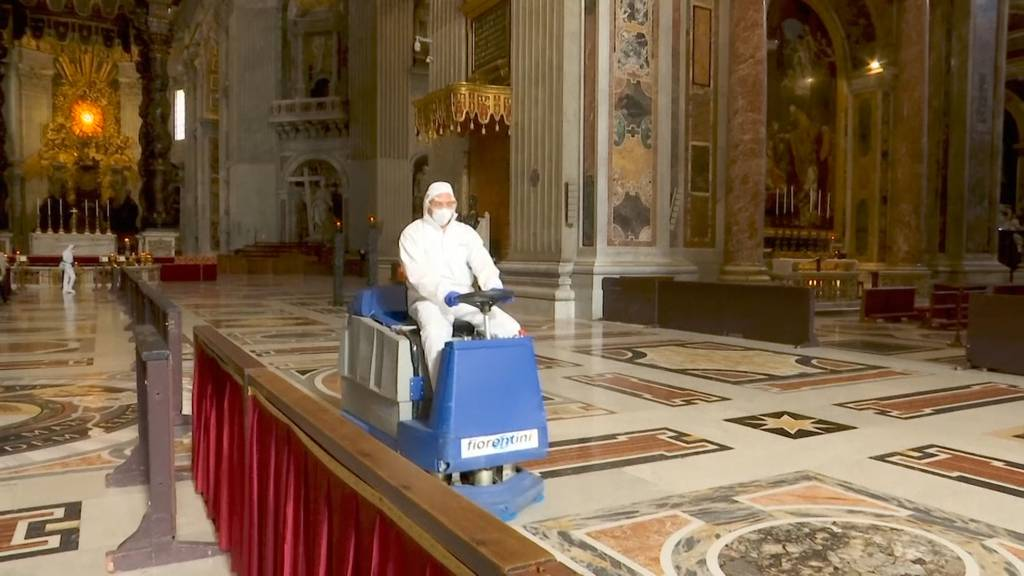 Vatikan bereitet sich auf Messebesucher vor
