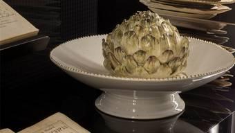 Die Ausstellung gibt Einblicke in die Kochkunst von früher.