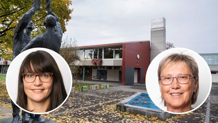 Nadine Fischer und Mirjam Aebischer fordern einen Neustart.