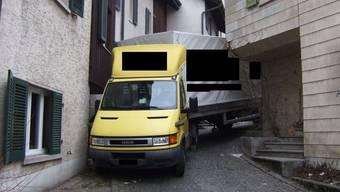 Nichts ging mehr in Grellingen - weder vorwärts noch rückwärts.