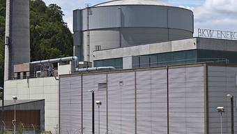 Das Kernkraftwerk Mühleberg im Kanton Bern