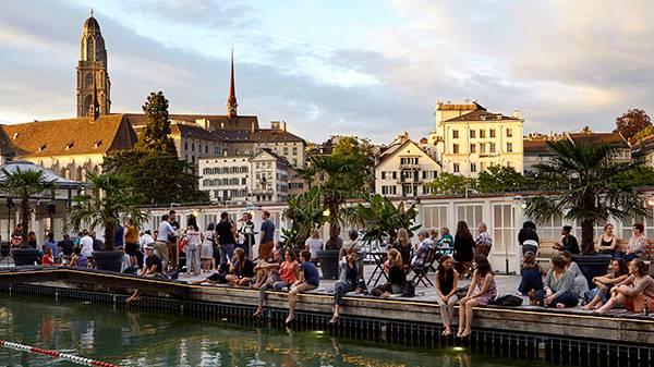 20 Jahre Barfussbar Zürich