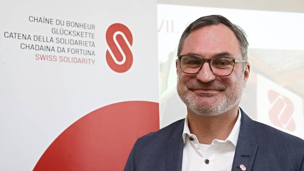 Glückskette-Direktor Roland Thomann.