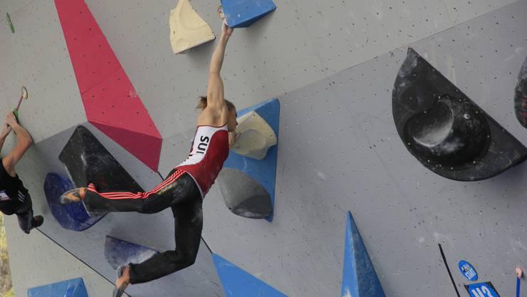Petra Klingler feiert ihren ersten Weltcupsieg.
