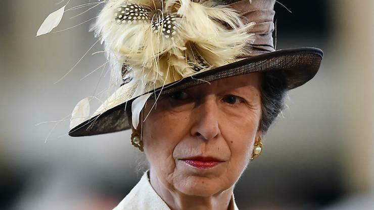 Prinzessin Anne muss sich von einer schweren Atemwegsinfektion erholen. (Archivbild)