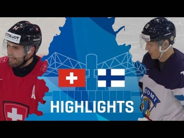 Switzerland - Finland | Highlights | #IIHFWorlds 2017