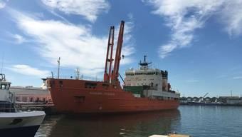 Das Forschungsschiff legte am Sonntag wieder im Hafen von Kapstadt an, wo vor genau drei Monaten die Reise begann.