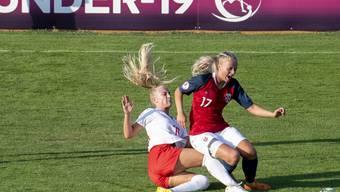 Trotz Torerfolg ausgeschieden: Alisha Lehmann und die Schweizer U19-Juniorinnen